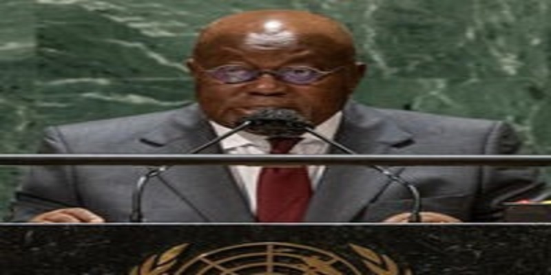 ADDRESS BY THE PRESIDENT OF THE REPUBLIC OF GHANA, NANA ADDO DANKWA AKUFO-ADDO, AT THE 76TH SESSION OF THE UNITED NATIONS' GENERAL ASSEMBLY